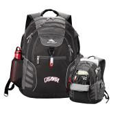 High Sierra Big Wig Black Compu Backpack-Catawba Primary Mark