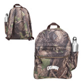 Heritage Supply Camo Computer Backpack-Catawba Primary Mark