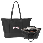 Stella Black Computer Tote-Catawba Primary Mark