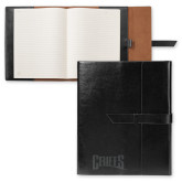 Fabrizio Black Portfolio w/Loop Closure-Griffs Wordmark Engrave