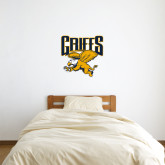 2 ft x 2 ft Fan WallSkinz-Griffs w/ Griff Stacked