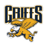 Small Decal-Griffs w/ Griff Stacked, 6 inches wide