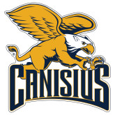 Extra Large Decal-Canisius w/ Griff Stacked, 18 inches wide
