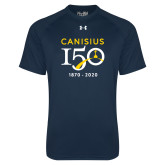 College Under Armour Navy Tech Tee-Sesqui Crest Dates