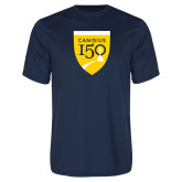 College Performance Navy Tee-Sesqui Crest
