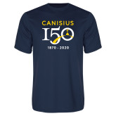 College Performance Navy Tee-Sesqui Crest Dates