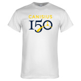 College White T Shirt-Sesqui Text