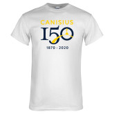 College White T Shirt-Sesqui Crest Dates