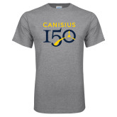 College Grey T Shirt-Sesqui Text