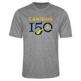 College Performance Grey Heather Contender Tee-Sesqui Text