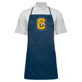 Full Length Navy Apron-Capital C Griffs