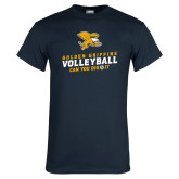 Navy T Shirt-Can You Dig It - Volleyball