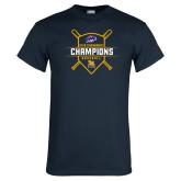 Navy T Shirt-2018 MAAC Baseball Champions