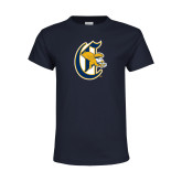 Youth Navy T Shirt-Old English C Griffs