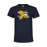 Youth Navy T Shirt-Griffin