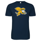 Next Level SoftStyle Navy T Shirt-Griffin