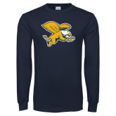Navy Long Sleeve T Shirt-Griffin