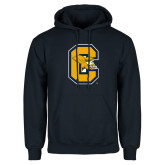 Navy Fleece Hoodie-Capital C Griffs