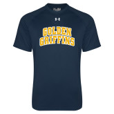 Under Armour Navy Tech Tee-Arched Golden Griffins