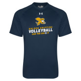 Under Armour Navy Tech Tee-Can You Dig It - Volleyball