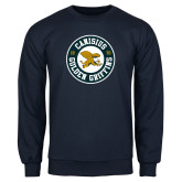 Navy Fleece Crew-Canisius Golden Griffins 1870