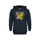 Canisius Youth Gold Fleece Hoodie Baseball Script w// Bat Design