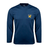 Syntrel Performance Navy Longsleeve Shirt-