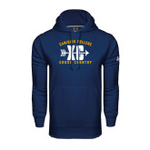 Under Armour Navy Performance Sweats Team Hoodie-Cross Country Design