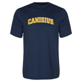 Performance Navy Tee-Arched Canisius