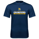 Syntrel Performance Navy Tee-2016 Regular Season Champions Womens Lacrosse