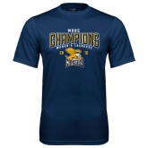 Performance Navy Tee-2016 MAAC Champions Womens Lacrosse