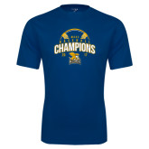 Syntrel Performance Navy Tee-2017 MAAC Champions Baseball