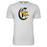 SoftStyle White T Shirt-Old English C Griffs
