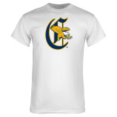 White T Shirt-Old English C Griffs