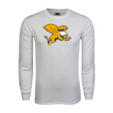 White Long Sleeve T Shirt-Griffin