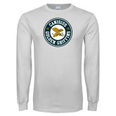 White Long Sleeve T Shirt-Canisius Golden Griffins 1870