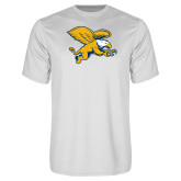Performance White Tee-Griffin