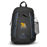 Impulse Black Backpack-Canisius w/ Griff Stacked