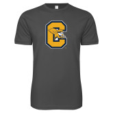 Next Level SoftStyle Charcoal T Shirt-Capital C Griffs