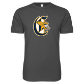 Next Level SoftStyle Charcoal T Shirt-Old English C Griffs
