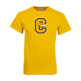 Gold T Shirt-Capital C Griffs