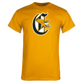 Gold T Shirt-Old English C Griffs