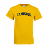 Gold T Shirt-Arched Canisius