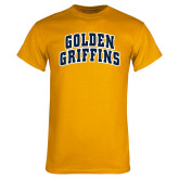 Gold T Shirt-Arched Golden Griffins