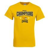 Gold T Shirt-2016 MAAC Champions Womens Lacrosse