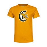 Youth Gold T Shirt-Old English C Griffs