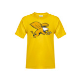 Youth Gold T Shirt-Griffin