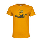 Youth Gold T Shirt-Can You Dig It - Volleyball