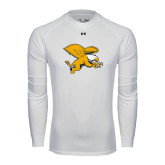 Under Armour White Long Sleeve Tech Tee-Griffin