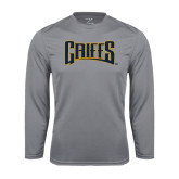 Syntrel Performance Steel Longsleeve Shirt-Griffs Wordmark